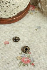 Antique Bronze Sewing Snap Fastener Set