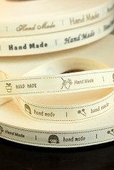 Pure Cotton Print Ribbon - Handmade (1.5cm x 1 yard)