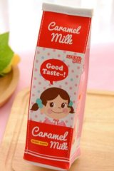 Kawaii Milk Box Pen Case Pouch