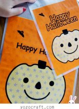 Kawaii Gift Wrapping Candy Bag - Halloween (5p)