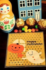 Kawaii Gift Wrapping Candy Bag - Halloween (10p)