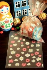 Kawaii Gift Wrapping Candy Bag - Flower (10p)