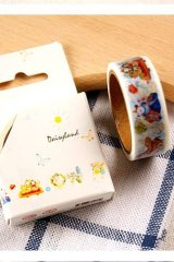SALE - Kawaii Paper Masking Tape - Color Painting Items