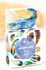 Kawaii Bentoto Washi Masking Tape - Wind Feather