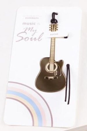 Photo2: Kawaii Copper Plating Music Bookmark