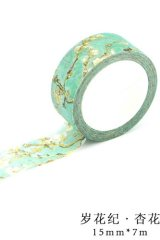Kawaii Washi Masking Tape - Apricot Flower