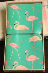 new Kawaii Planner Organizer Note Book - Flamingo