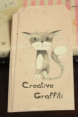 Cute Slim Envelope Set - Creative Graffitti
