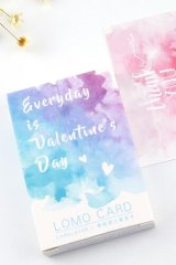 Cute Memo Lomo Card Set - Valentines Day