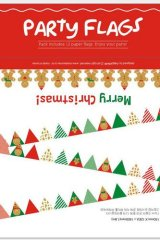 Kawaii Decorative Pattern Garland - Christmas