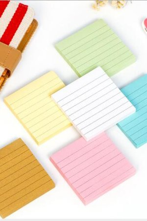 Photo1: Colorful Macaroon Scheduler Planner Memo Pad