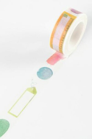 Photo1: Kawaii Masking Tape - Daily Tool - Tag