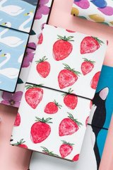 Kawaii Planner Organizer Note Book - Strawberry