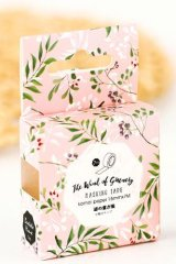 Kawaii Bentoto Washi Masking Tape - Windy Leaves