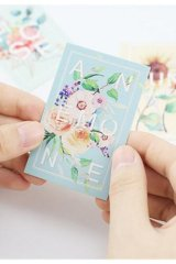 Cute Memo Lomo Card Set - Flower