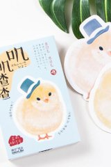 Kawaii Post Card Set - diecut little chicks