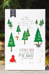 Kawaii Post Card Set - Little Red Riding Hood