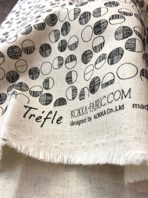 Photo4: Japanese Fabric Linen Cotton Blended - Apperel Circle - Half Yard
