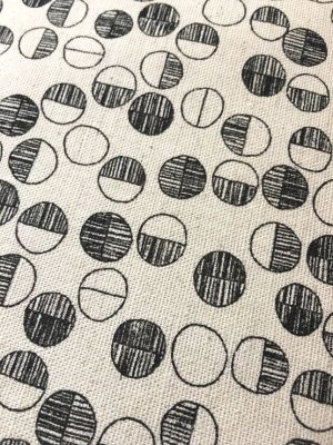 Photo5: Japanese Fabric Linen Cotton Blended - Apperel Circle - Half Yard