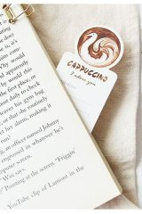 Kawaii Paper Bookmarks - coffee art