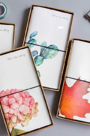 Photo1: new Kawaii Planner Organizer Note Book - Plant