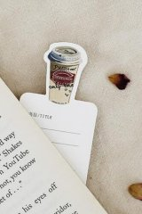 Kawaii Paper Bookmarks - Coffee Diary