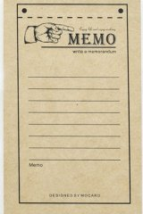 Kraft Paper Retro Notes Memo - Memo