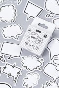 Lovely Planner Paper Label Sticker Box - Message Popout