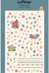 Kawaii Korean Suatelier Decor Sticker Set