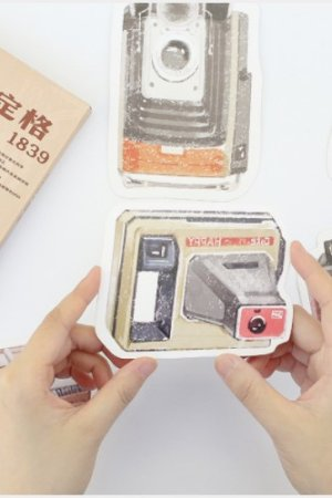 Photo1: Kawaii Post Card Set - cute camera