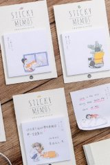 Kawaii Sticky Notes Memo - With You Everyday