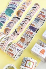 SALE - cute Planner Masking Tape - Bottle - Crystal bottleKawaii Planner Washi Masking Tape - Die Cut