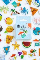 kawaii Planner Paper Label Sticker Box - Meet Summer