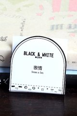SALE - Black White Planner Slim Masking Tape - expression emoji