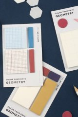 SALE - cute Planner Sticky Notes Memo - Geometry
