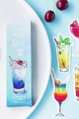 Kawaii Paper Bookmarks - sweet drinks
