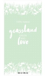 Cute Message Notes Book Memo - Nature - Grassland Love