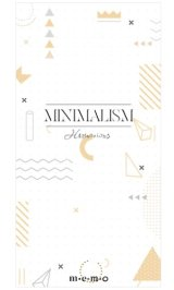 Cute Message Notes Book Memo - minimalism - harmonious