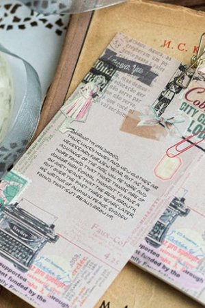 Photo1: Cute Message Notes Book Memo - Girl Dream - Pink Age