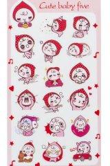 Kawaii Planner Stickers Set -  little pink peach