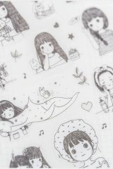 Kawaii Planner Stickers Set - A girl daily life