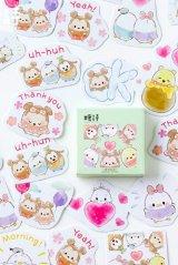 kawaii Planner Paper Label Sticker Box - soft cute baby