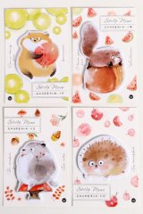 Kawaii Sticky Notes Memo - Forest Party