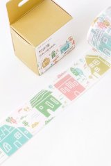 Kawaii Washi Masking Tape - salty forest - Village