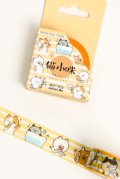 Kawaii Washi Masking Tape - Dango - Little Cat