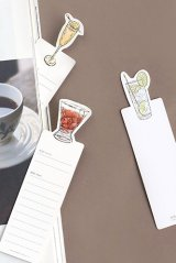 Kawaii Paper Bookmarks - DRINK