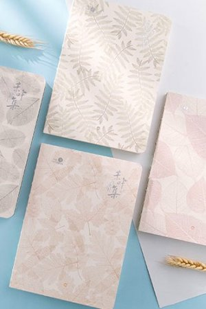Photo1: new Kawaii Planner Planner Scheduler Note Book -  Simple Leaves