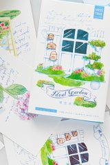 Kawaii Post Card Set - Ideal garden