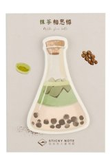 Kawaii Sticky Notes Memo - Happy Life - Tea Bottle