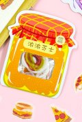Kawaii Sticker Sack Flake - Snacks - Thick Cheese